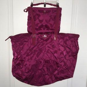 Perfect overnight/weekender bag